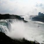 Die Niagara-Fälle an der Grenze zwischen den USA und Kanada
