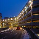 Parken, Parkplatz, Flughafen, kostenlos